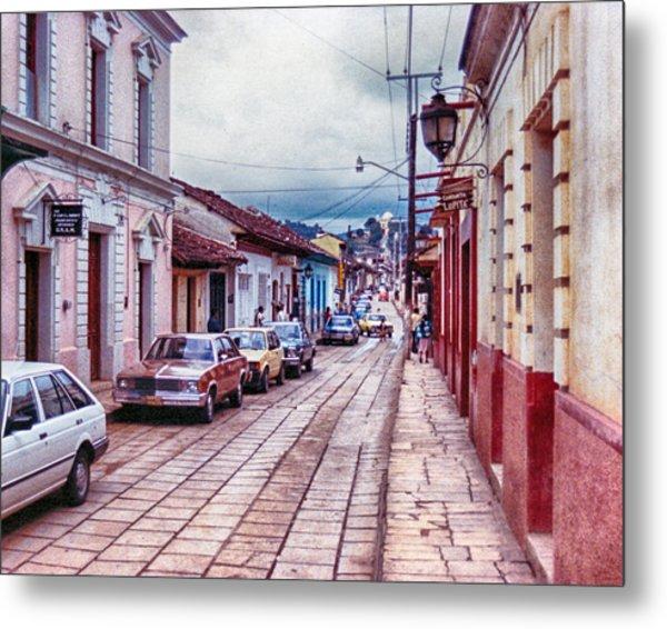 Street In Las Casas Metal Print