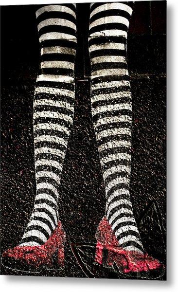 Street Shoes Metal Print