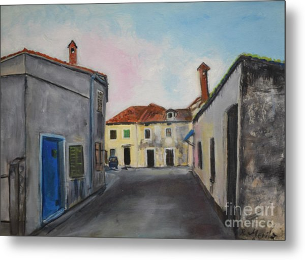Street View From Kavran Metal Print