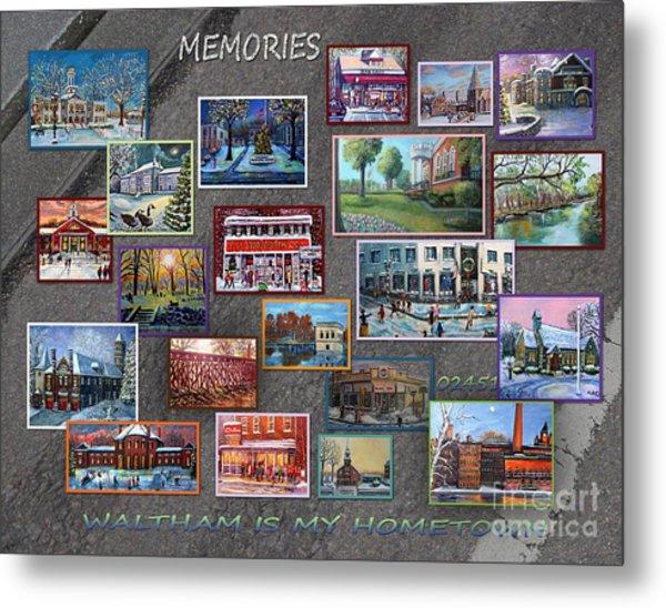 Streets Full Of Memories Metal Print