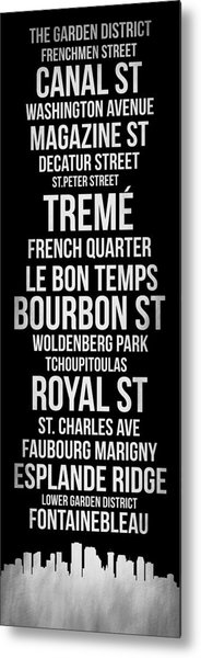 Streets Of New Orleans 2 Metal Print