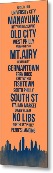 Streets Of Philadelphia 4 Metal Print