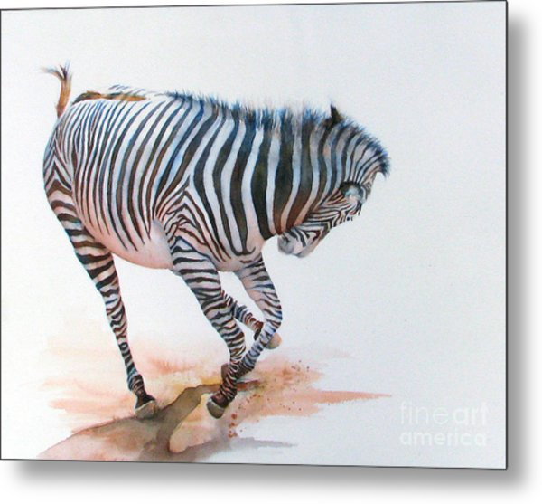 Stripes IIi Metal Print