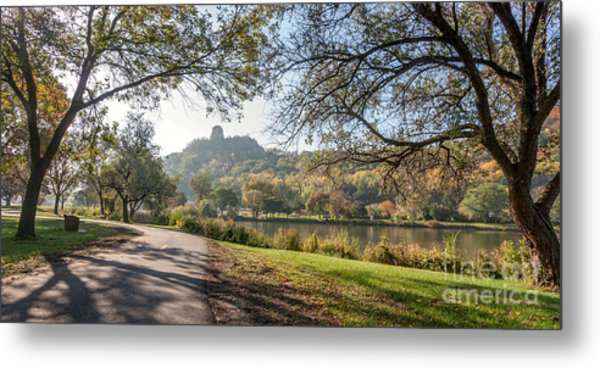 Metal Print featuring the photograph Stroll With Sugarloaf by Kari Yearous