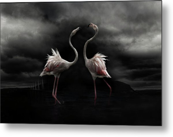Strong Temperament Metal Print