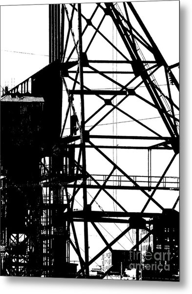 Structure 3 Metal Print