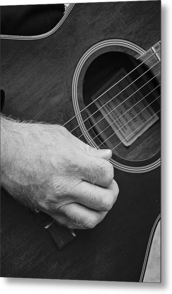 Strum Metal Print by Stephanie Grooms