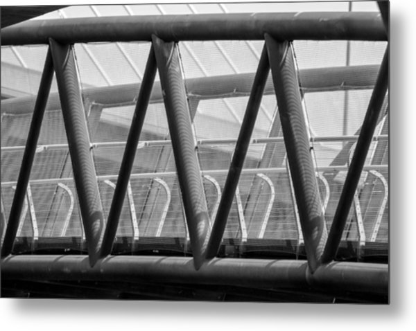 Struts And Shadows Metal Print