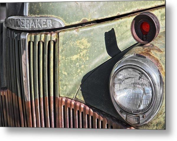 Studebaker Truck Metal Print