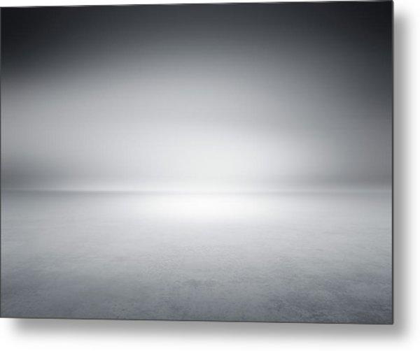 Studio Background Metal Print by Aaron Foster