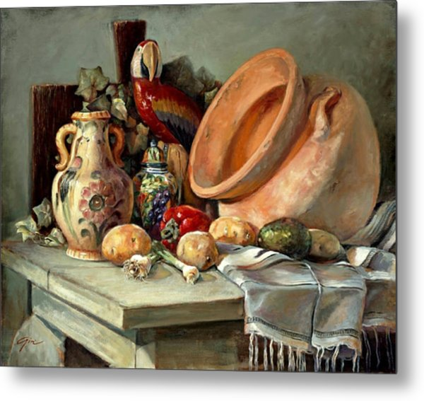 Studio Still Life Metal Print by Gini Heywood