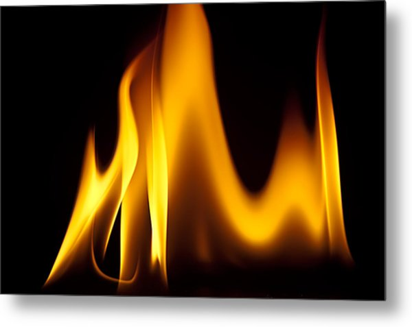 Study Of Flames I Metal Print