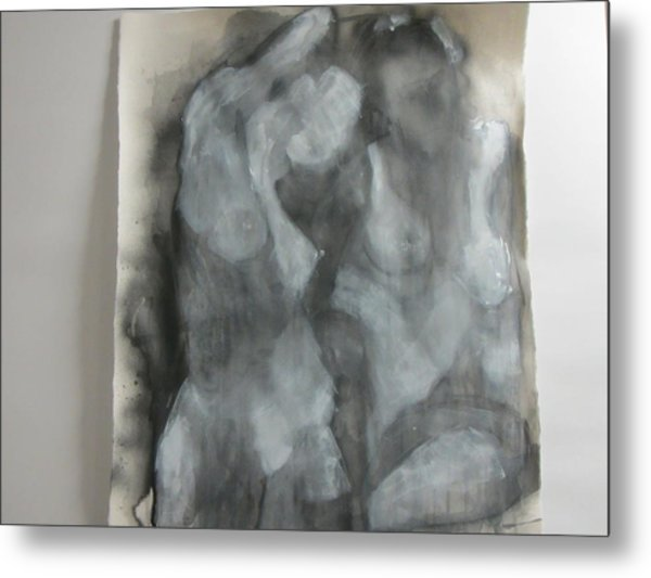 Study Of Models Metal Print by Marilyn Greenway
