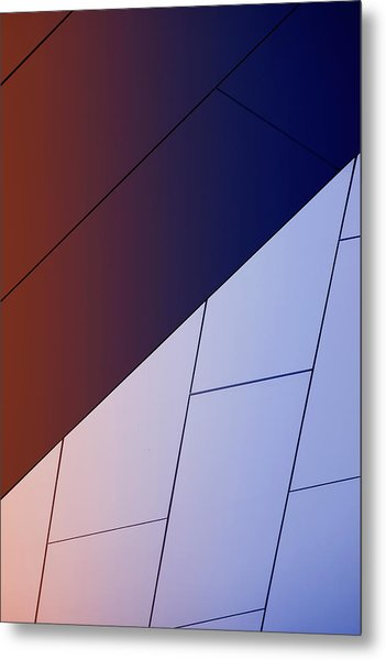 Study Of Patterns, Lines And Colors Metal Print by Roland Shainidze Photogaphy