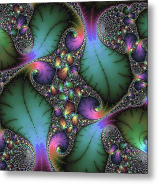Stunning Mandelbrot Fractal Metal Print