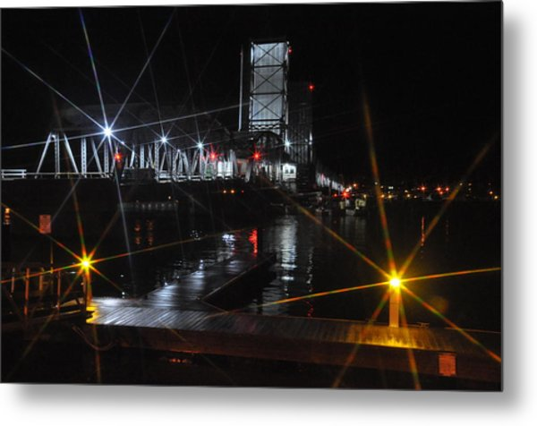 Sturgeon Bay Bridge Metal Print