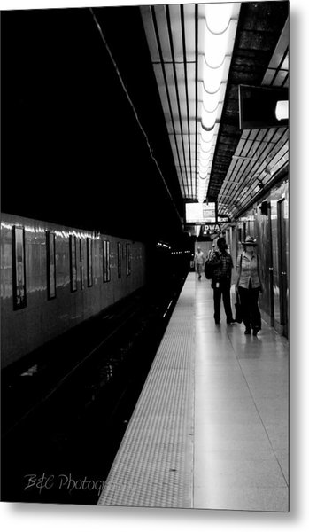Subway Metal Print by BandC  Photography