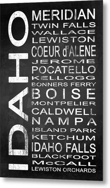 Subway Idaho State 1 Metal Print