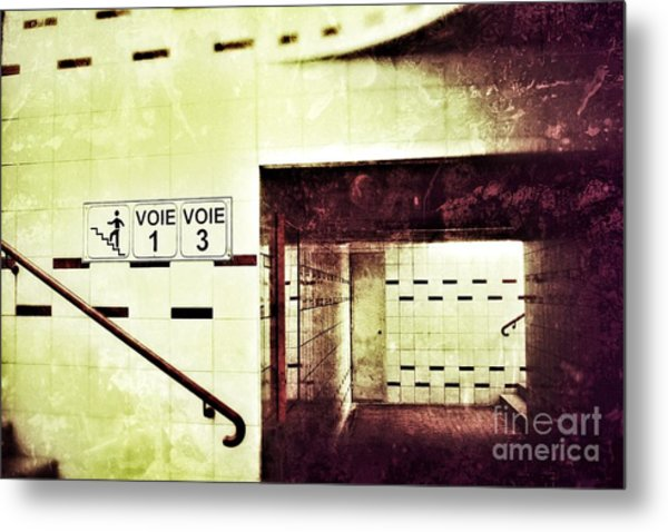 Subway  Metal Print