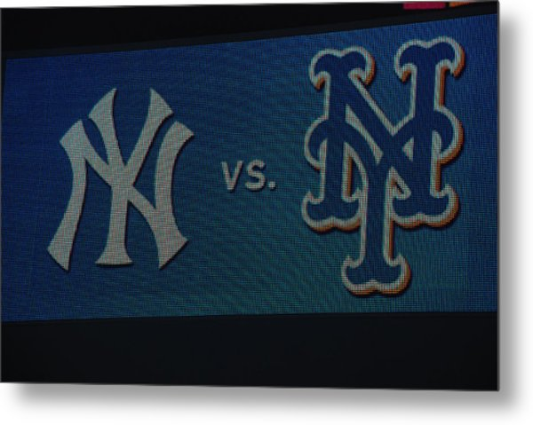 Subway Series Metal Print