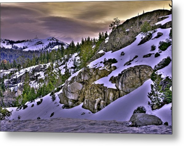 Metal Print featuring the photograph Sugar Bowl Hillside by William Havle