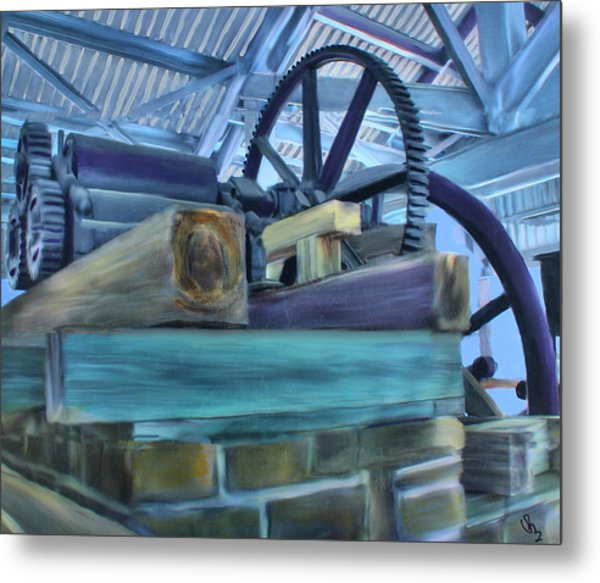 Sugar Mill Gizmo Metal Print