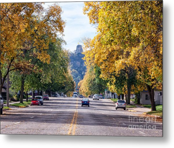 Metal Print featuring the photograph Sugarloaf Souvenir - Mankato Avenue by Kari Yearous