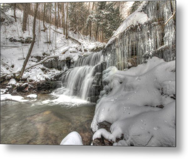 Sullivan Run Waterfall 3 Metal Print
