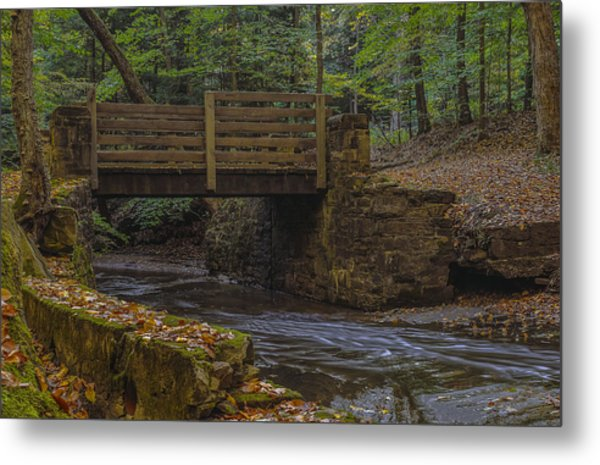 Sulphur Springs Bridge Metal Print