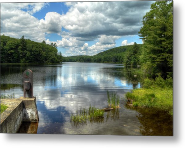 Summer Afternoon At The Spillway Metal Print
