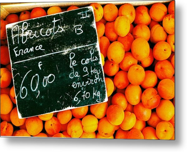 Summer Apricots Metal Print by Christian Capucci