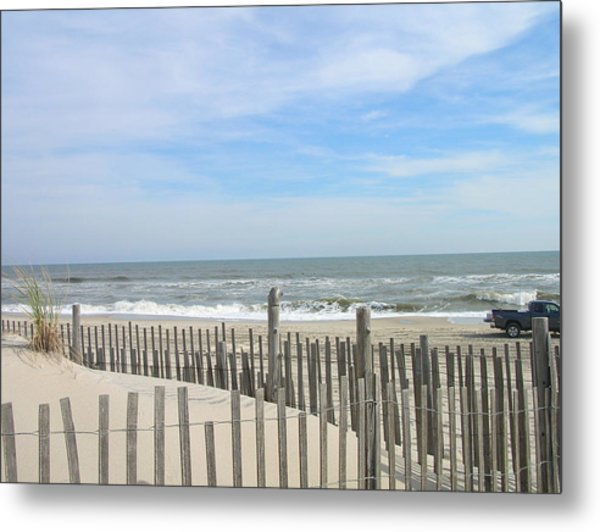 Summer At The Jersey Shore Metal Print