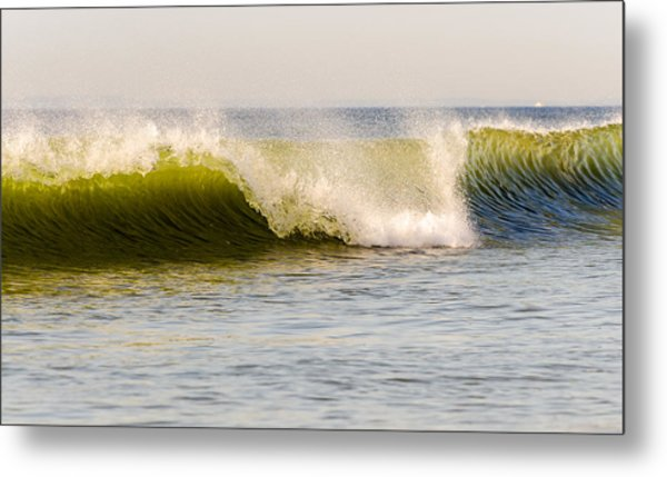Summer Green Room Breaking Metal Print