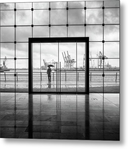 Summer In Hamburg Metal Print