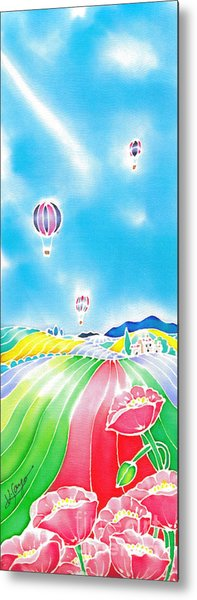 Summer Lights Metal Print