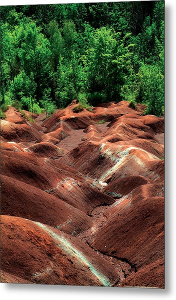 Summer Moguls Metal Print by Mike Feraco