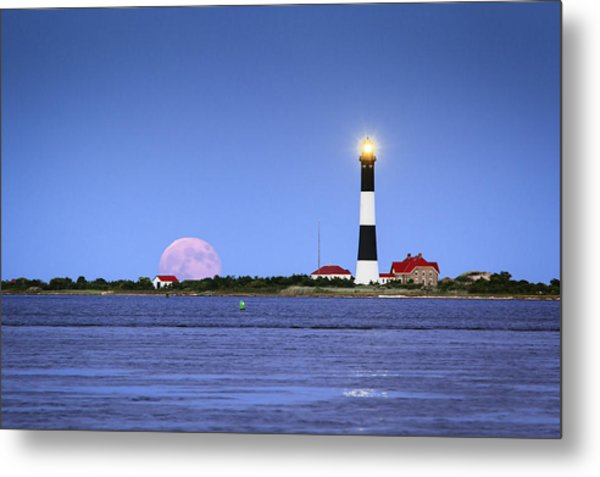 Summer Moon Metal Print