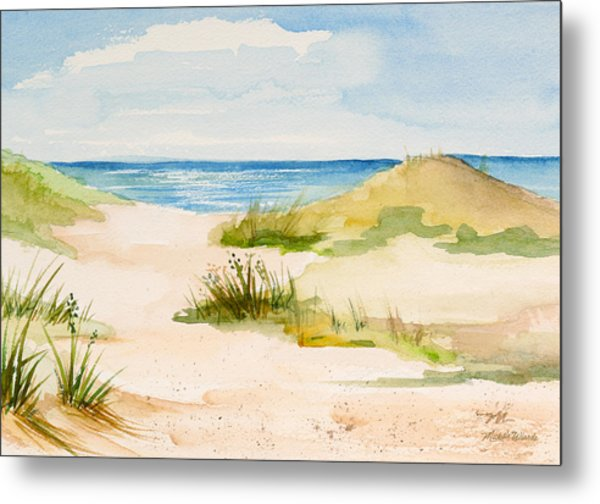 Summer On Cape Cod Metal Print