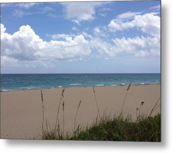 Summer Shore Metal Print