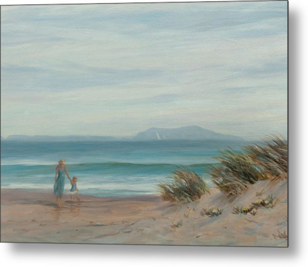 Summer Stroll Metal Print by Tina Obrien