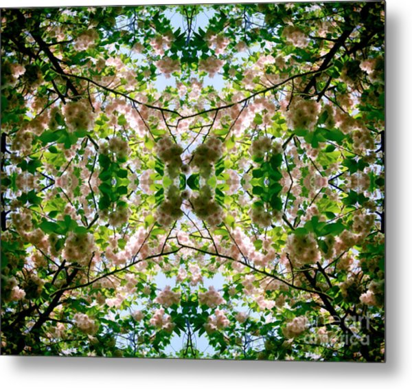 Summer Symmetry Metal Print