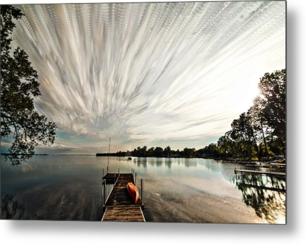 Summer Time... Lapse Metal Print