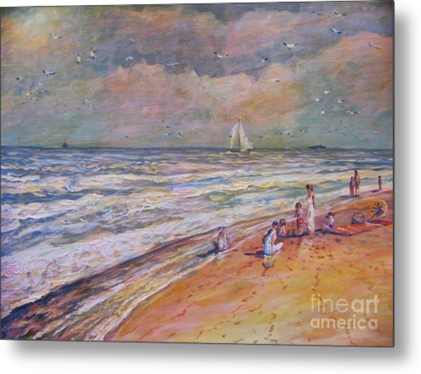 Summer Vacations Metal Print