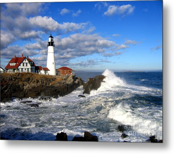 Summer Waves Metal Print