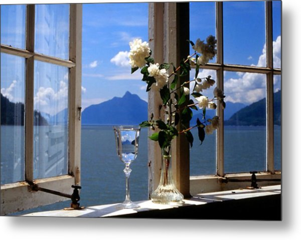Summer Window-2 Metal Print