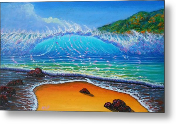 Summer Winds Metal Print