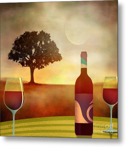 Summer Wine Metal Print