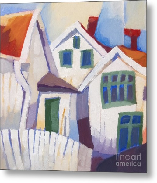 Summerhouses Metal Print