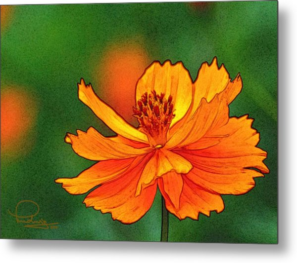 Summertime 6 Metal Print
