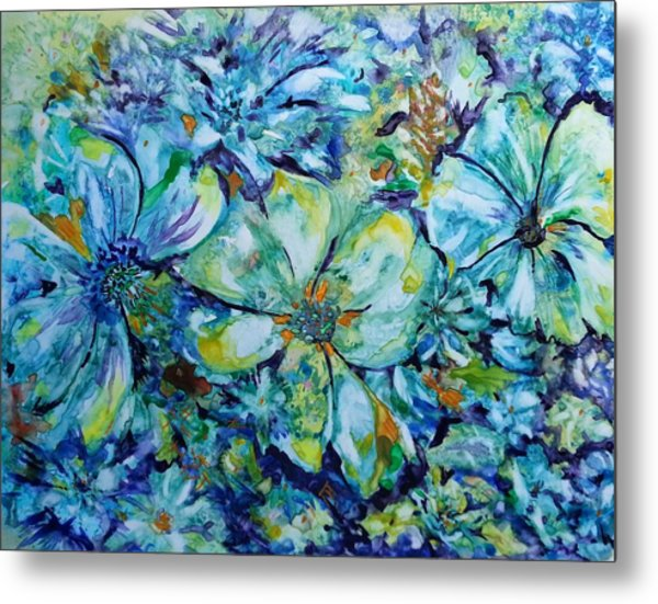 Summertime Blues Metal Print